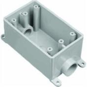 Carlon E981DFN-CTN FSC Outlet Box, Single gang, 1.3cm