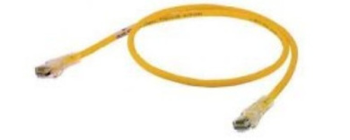 Hubbell Wiring Systems HC5EY15 netSELECT Structured Wiring Universal Patch Cord, Category 5e, 4.6m Length, Yellow