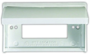 JR Products 47515 Polar White GFCI Weatherproof Outlet Cover