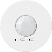 Lutron LRF2-VCR2B-P-WH Radio Powr Savr Wireless Ceiling-Mounted Vacancy Sensor, White