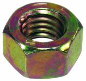 Grade 8 Yellow Dichromate Hex Nut 7/16-14 Yc G8