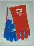 Tillman 1075 Patriotic Premium Side Split Cowhide Welding Gloves, Large
