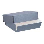 9x12 Archival Print Storage Box, Drop Front Design, 3 Deep, Exterior Colour