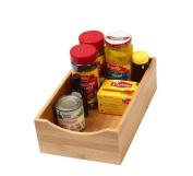 YBM Home & Kitchen Bamboo Lingerie Drawer or Shelf Organiser Box Size 7 3/4Wx12 1/2Lx2 3/4H #330
