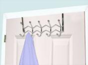 Home Basics DH00833 Otd Hanger 5-Hook Chrome,