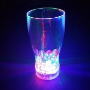 Modern Home LED Blinking Light 590ml Soda/Beer Glass