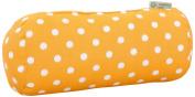 Majestic Home Goods Citrus Ikat Dot Round Bolster Pillow