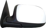 CIPA 27402 Chevrolet/GMC OE Style Chrome Heated Power Replacement Driver Side Mirror