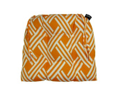 Fresco Orange Dining Chairpad Indoor / Outdoor
