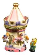 Horse Carousel Merry Go Round Fair Hinged Trinket Box