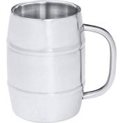 Arctic Blast 1010ml Barrel-shaped Stainless Steel Beer Mug- Shaped Mug