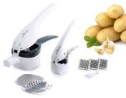 Culina Potato Ricer and Garlic Press Deluxe Set