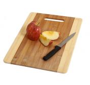 YBM Home & Kitchen Bamboo Cutting Board Size 32cm l X 22cm w X 1cm h 343