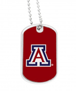 NCAA Arizona Wildcats Sports Team Logo Fanshop Collectible Gift Dog Tag Necklace