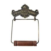 Toilet Paper Holder Antique Brass St Pancras Tissue Holder | Renovator's Supply