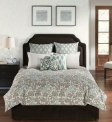 Angelo Home USA Camden Square Park 6 Piece Comforter with Filler Set-Queen