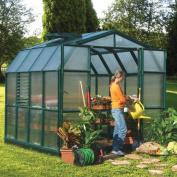 Rion Greenhouses Prestige 2 Twin Wall 2.7m W x 2.6m D Polycarbonate Greenhouse
