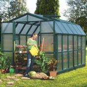 Rion Greenhouses Prestige 2 Twin Wall 2.7m W x 4m D Polycarbonate Greenhouse