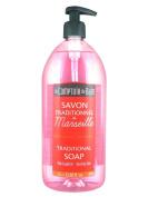 Le Comptoir du Bain Pink Grapefruit Marseille Traditional Soap 1L