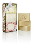Malie Organics Luxe Cream Soap Trio - Plumeria, Pikake, Koke'e