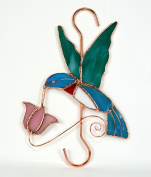 Gift Essentials GE112 Hummingbird With Pink Flower Hook
