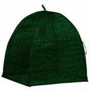 NuVue Garden Tools Winter Shrub Cover 60cm . Pop-Open Framed 20250