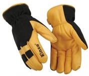 KINCO INTERNATIONAL Medium Men's Premium Grain Deerskin Leather Gloves