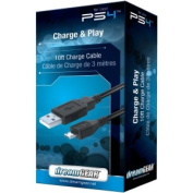 DREAMGEAR DGPS4-6415 PlayStation(R)4 Charge & Play Cable, 3m