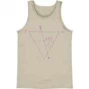 Tegan & Sara Men's Diagram Mens Tank Medium Grey