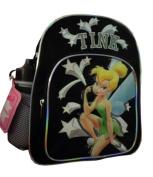 Mini Backpack - Disney - Tinkerbell - w/ Water Bottle Black New 35344