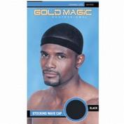 Gold Magic Stocking Wave Cap