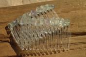 Fluorite Stone Hair Combs