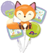 Woodland Welcome Party Balloon Bouquet