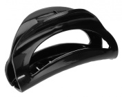 France Luxe Cutout Curve Jaw - Black