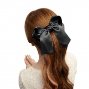 Coromose Women Girls Cute Large Big Satin Hair Hair Clip Boutique Ribbon Bow