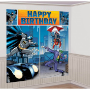 Amscan International Batman Scene Setters Decoration Kit