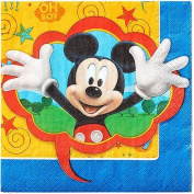 Mickey Mouse Lunch Napkin, 16 ct.