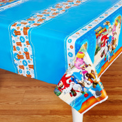 Sonic Boom Plastic Tablecover