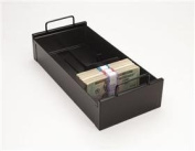 MMF 225107404 Currency Tray With Follower Block - Black