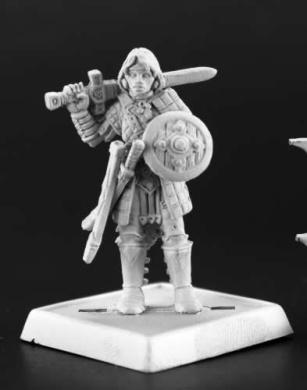RPR60168 Pathfinder Kagur Blacklion Miniature Reaper