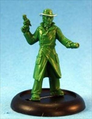 Max Gribble, Pulp Era Investigator Multi-Coloured