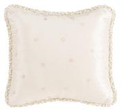 Glenna Jean Contessa Pillow, Pink Dot Embroidery