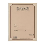 Archives Spiral Bound Manuscript Paper Book, 10 Stave, 96 Pages
