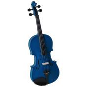 Cremona Sv-130Bu Series Sparkling Blue Violin Outfit 4/4 Size