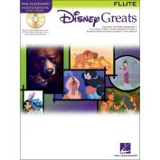 Hal Leonard Disney Greats for Flute Book/CD Instrumental Play-Along