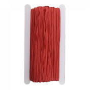 Linsoir Beads F1991 Soutache Cord for DIY Jewellery Making- 34 yard/lot-3mm Width-Red Colour