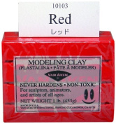 0.5kg, Non-Toxic, Model Makers Clay in Red