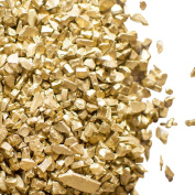 Vase Filler, Crushed Glass Fragments 3.8kg, Assorted Sizes, Centrepiece, Display, Home, Holiday, Event, Venue (Gold)