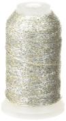 YLI 20415-GSV Candlelight Yarn, 200 yd, Gold/Silver