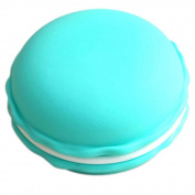 Elevin(TM) 8pcs Earphone SD Card Macarons Bag Big Storage Box Case Carrying Pouch